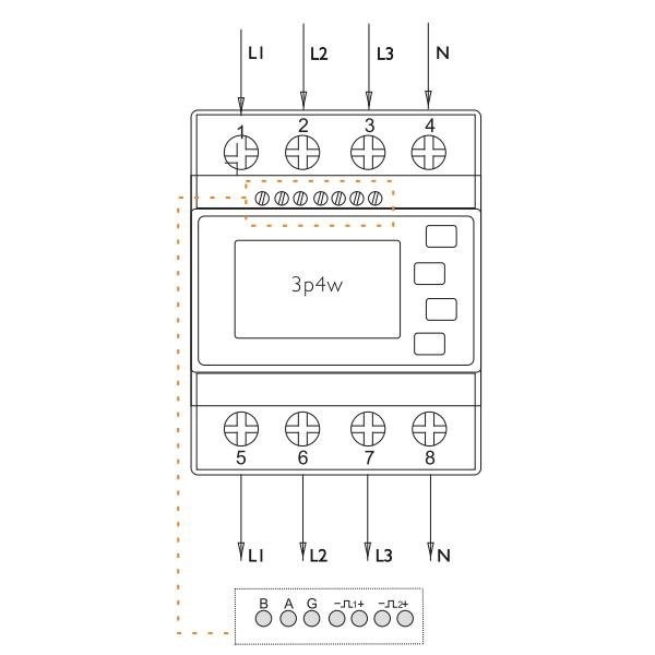 Eastron - SDM630 - Wiring