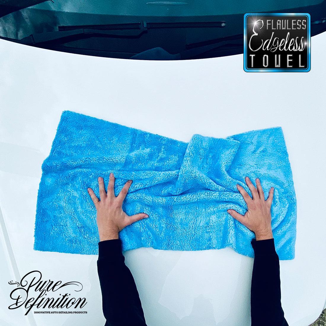 absorbente Pa/ño de limpieza de gamuza natural; toalla de secado de gamuza para limpieza de coches VOSO