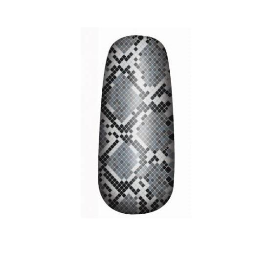 OPI Pure Nail Lacquer Apps Black Grey Rattlesnake