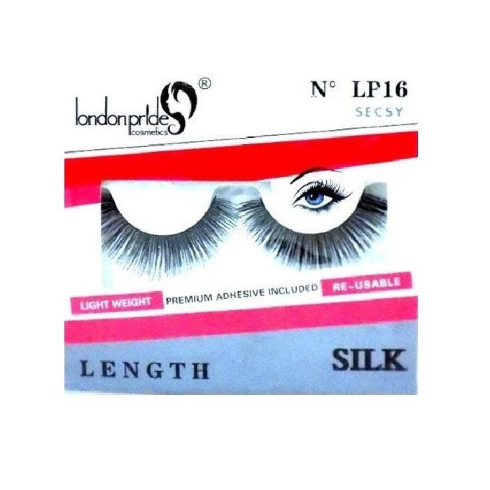 London Pride Cosmetics Silk False Eyelashes - LP16 Secsy