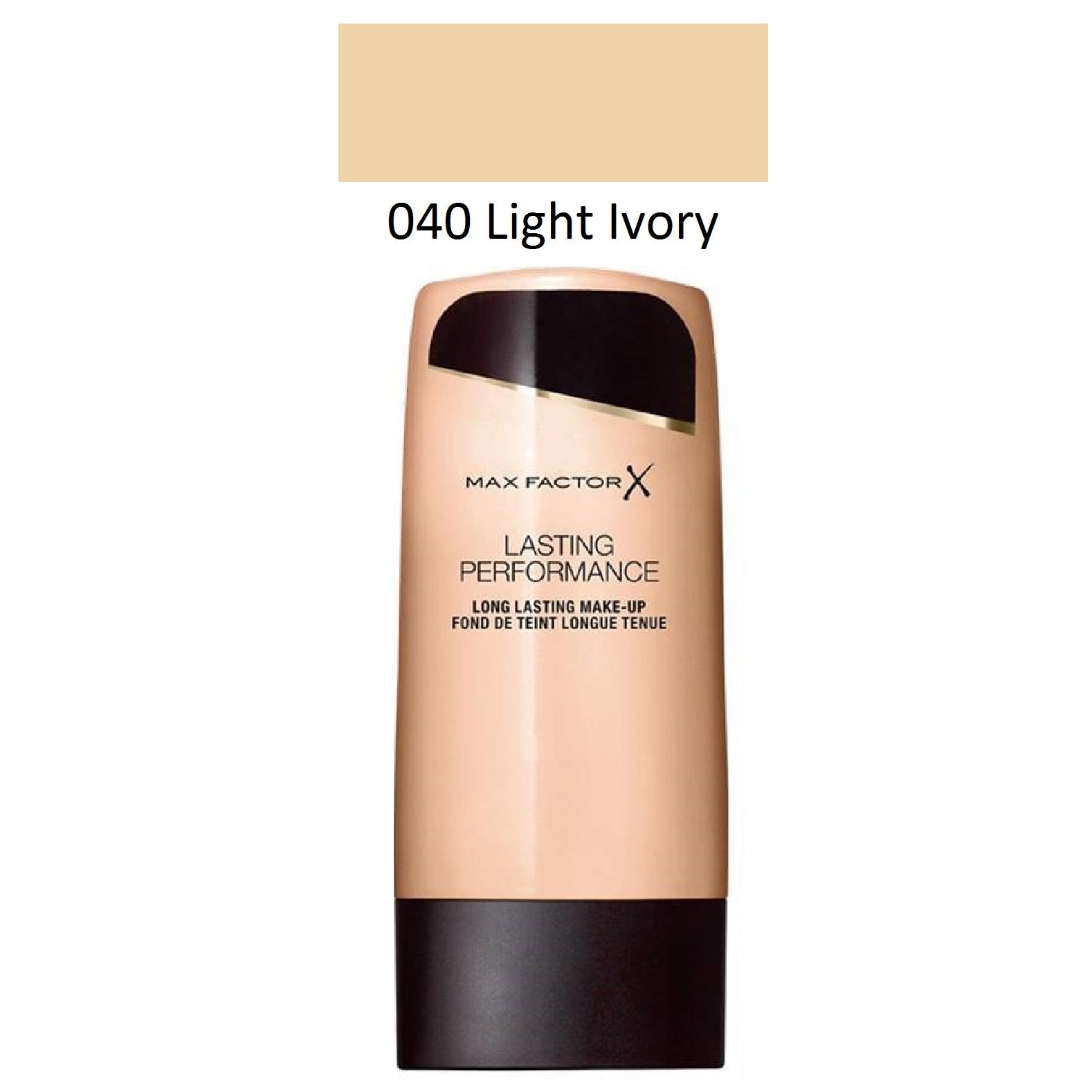 Max Factor Lasting Performance Foundation 040 Light Ivory