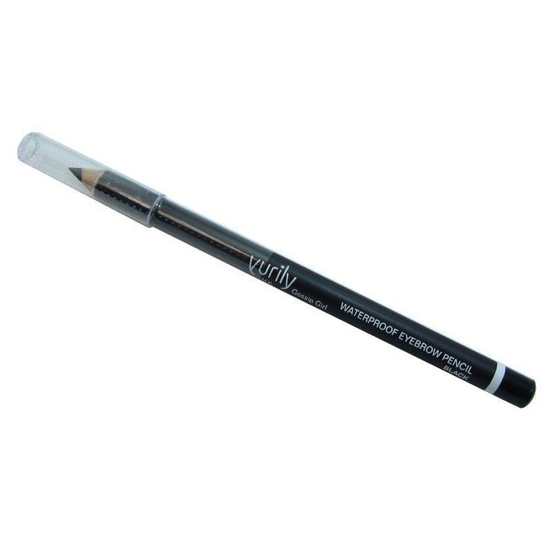 Yurily waterproof black eyebrow pencil