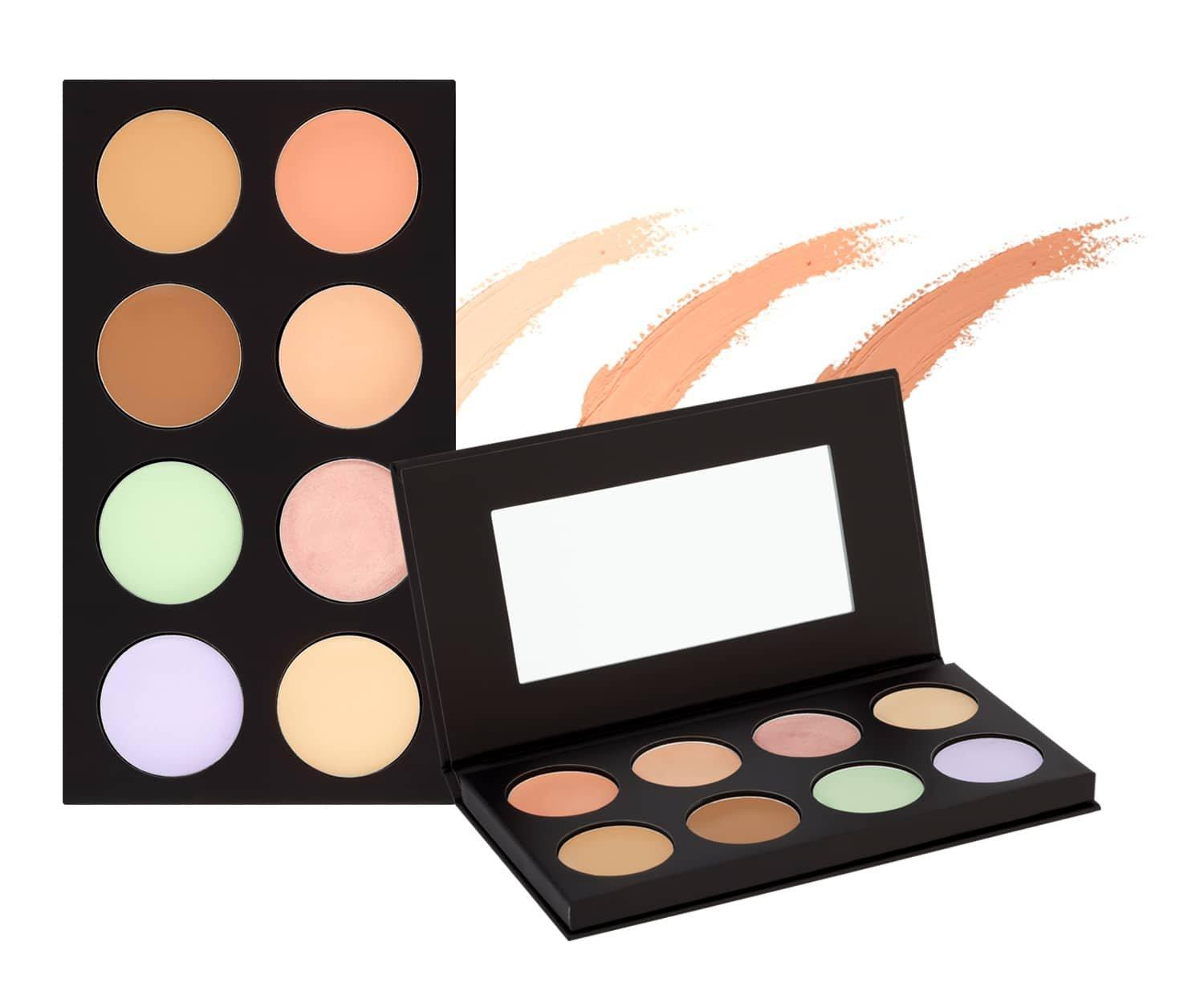 Collection concealer and highlighter palette #ConcealAndLightLikeAPro