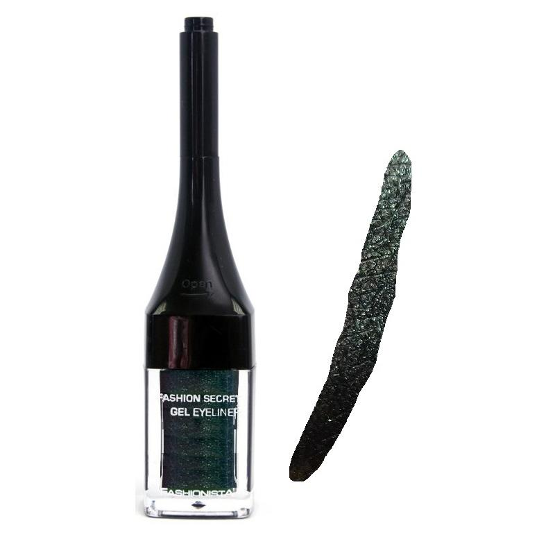 Fashionista secret gel eyeliner green