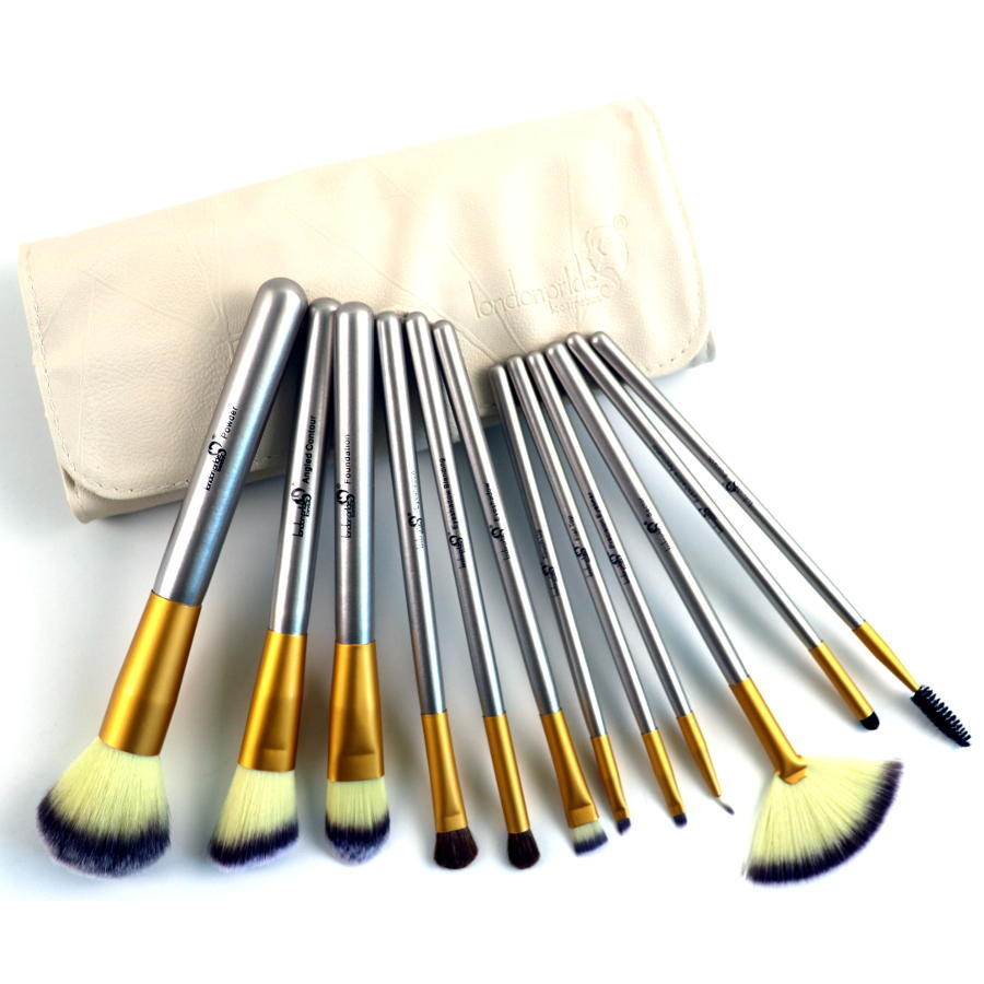 London Pride Cosmetics Royal Premium Collection 12pc Brush Set