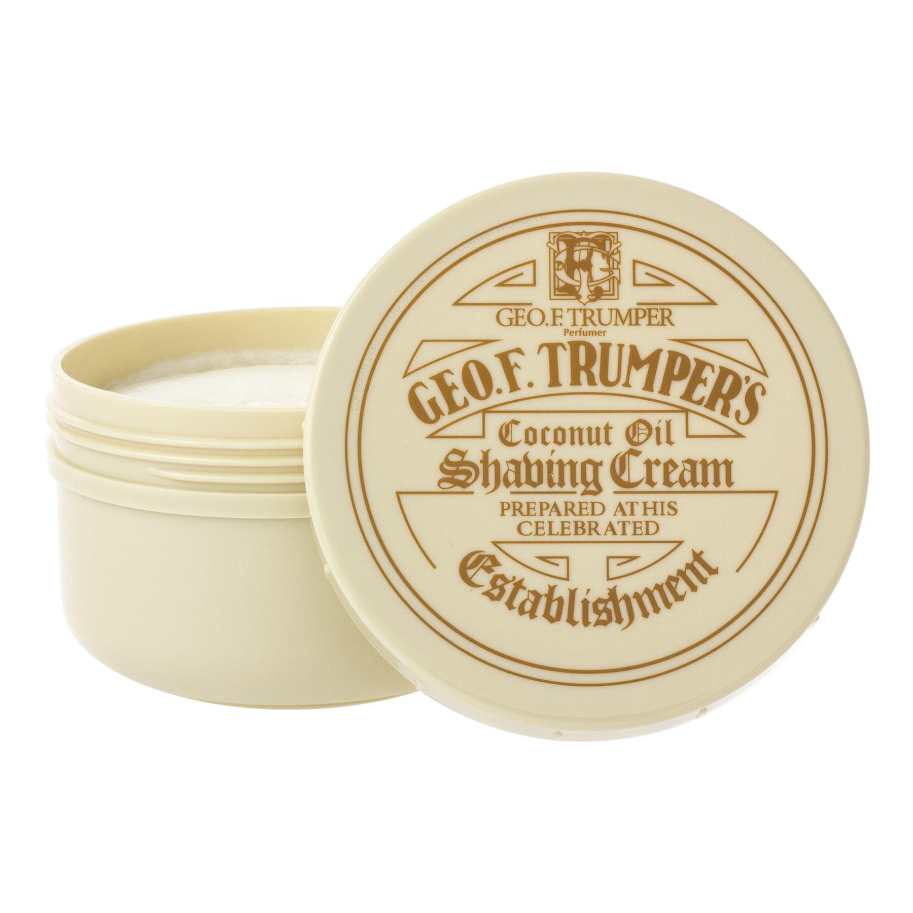 Geo F Trumper Coconut Shaving Cream Bowl