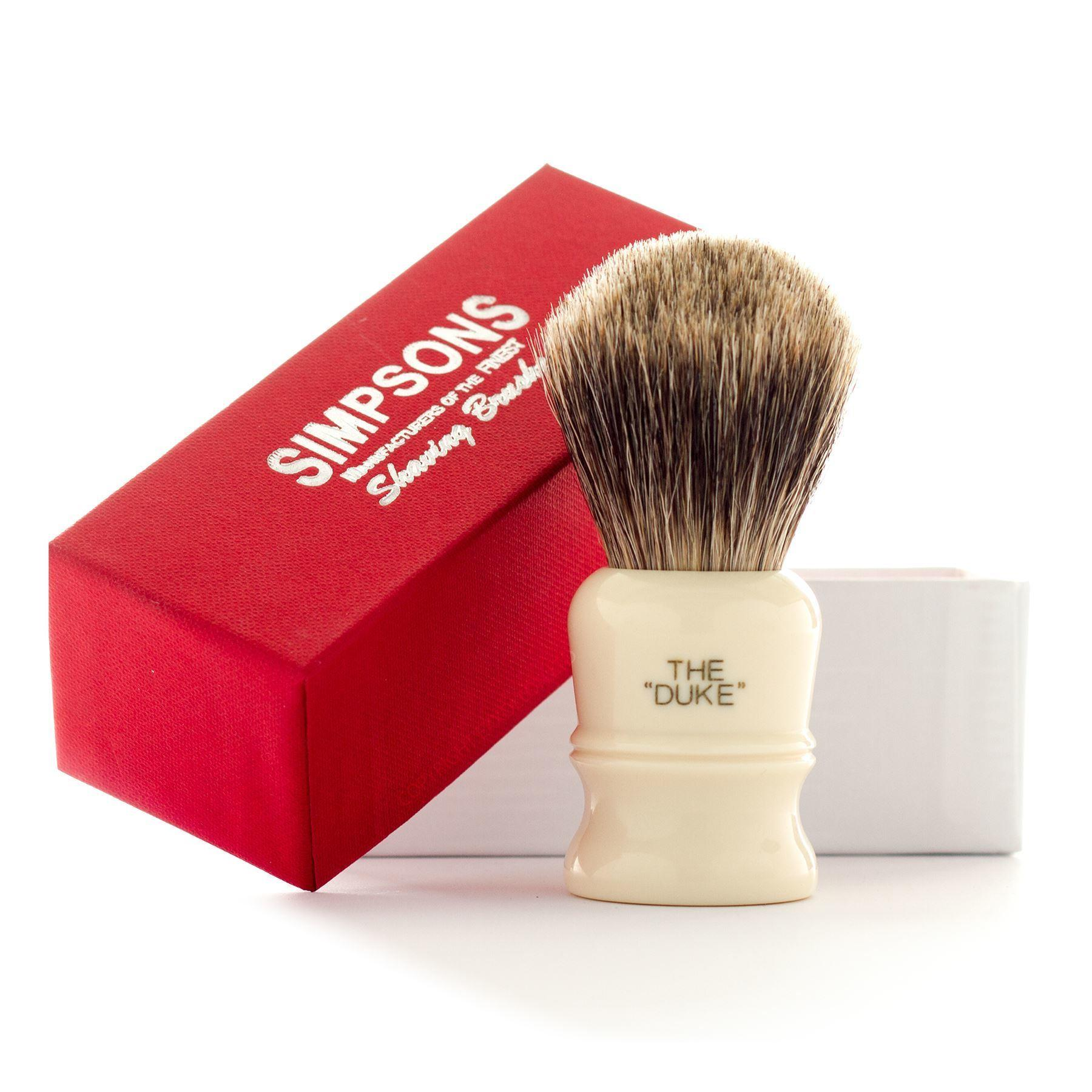 Simpsons Duke D3 Best Badger Hair Shaving Brush