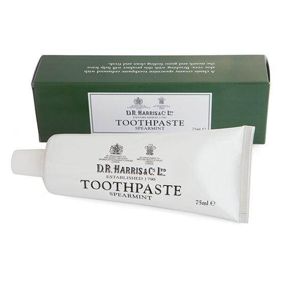 DR Harris & Co Spearmint Fluoride Free Toothpaste