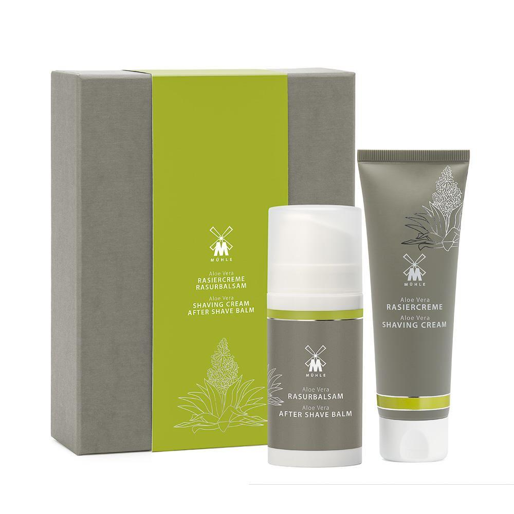 Muhle Aloe Vera Shaving Gift Set (Shaving Cream & Aftershave)