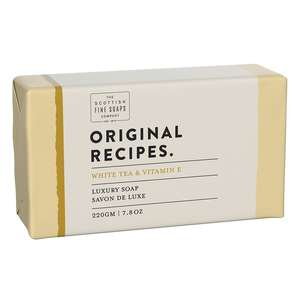 Scottish Fine Soaps White Tea & Vitamin E Luxury Soap Bar (220g)
