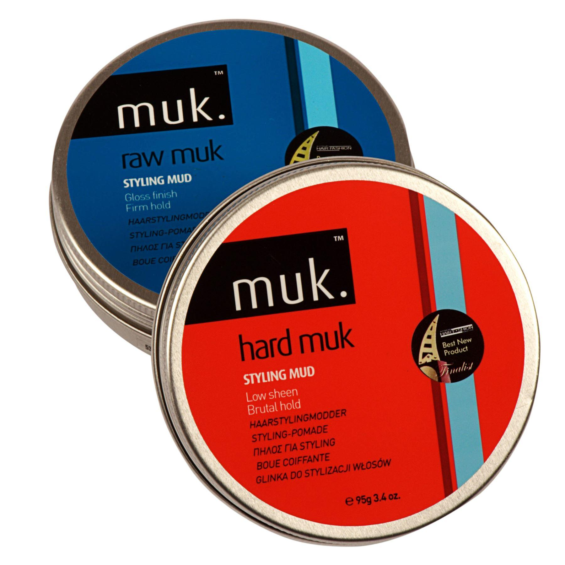 Hard MUK & Raw MUK Large Hair Styling Combo Pack