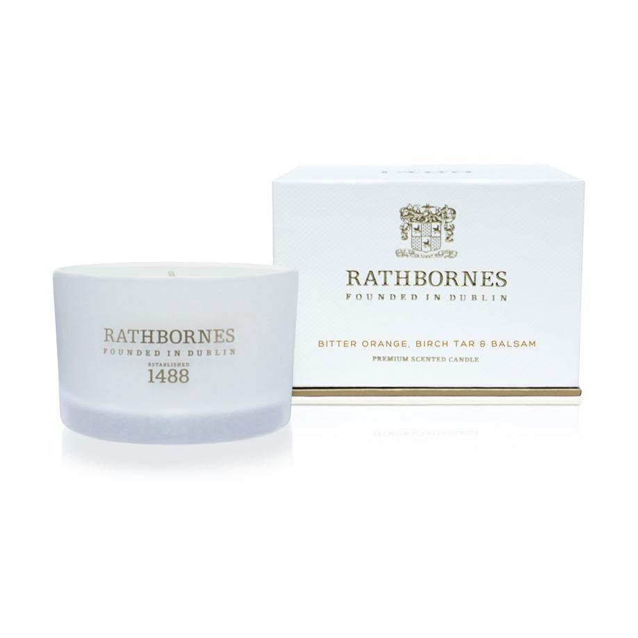 Rathbornes 1488 Bitter Orange, Birch Tar & Balsam Scented Travel Candle