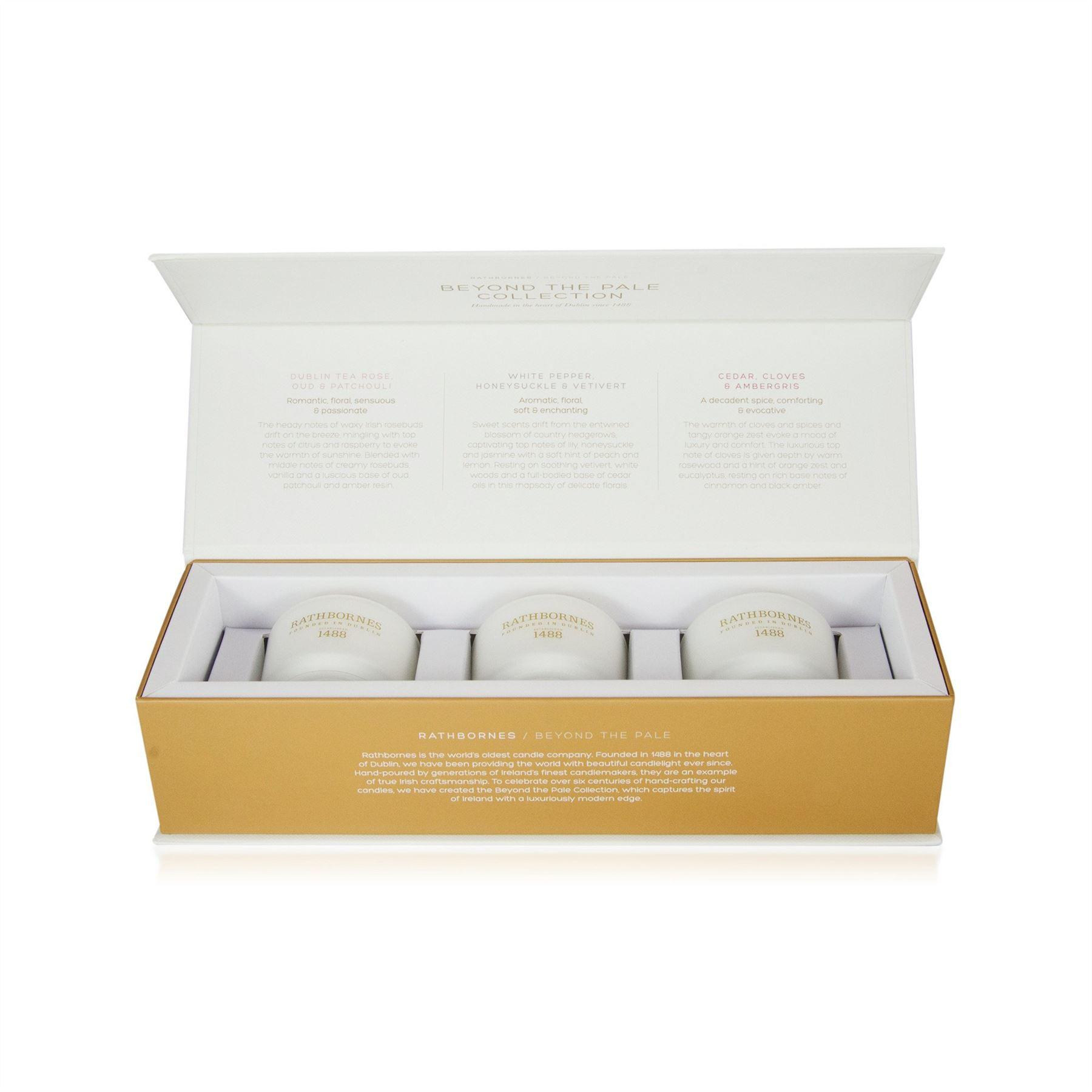 Rathbornes 1488 Travel Candle Gift Set