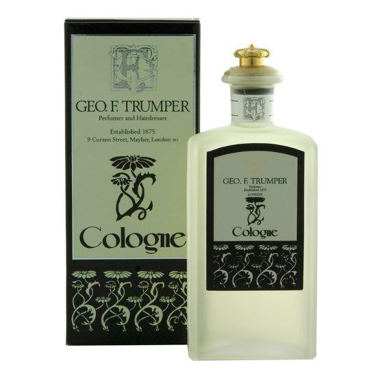 Geo F Trumper Eau de Cologne in Glass 100ml Splash Bottle