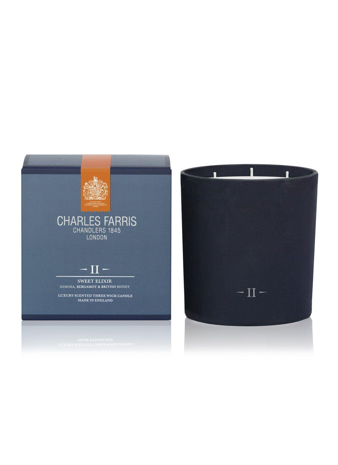 Charles Farris Sweet Elixir 3 Wick Candle
