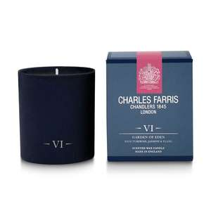 Charles Farris Garden of Eden VI Single Wick Candle