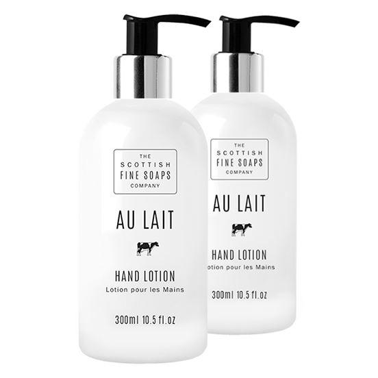 Scottish Fine Soaps Au Lait Hand Lotion Twin Pack