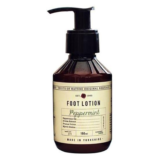 Fikkerts Fruits of Nature Peppermint Foot Lotion