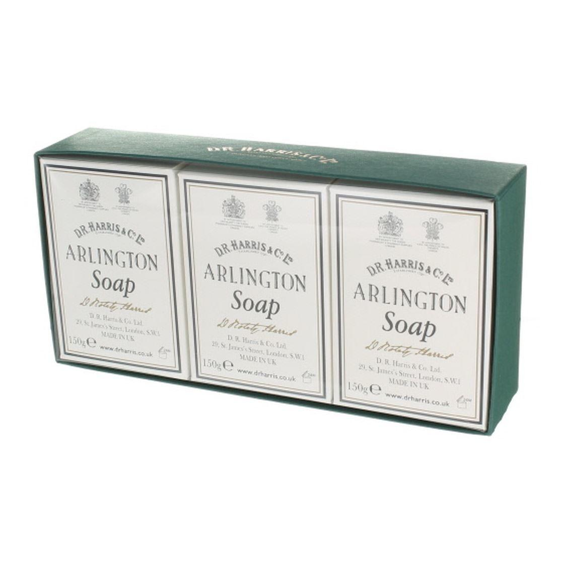 DR Harris & Co Arlington Bath Soap Triple Pack