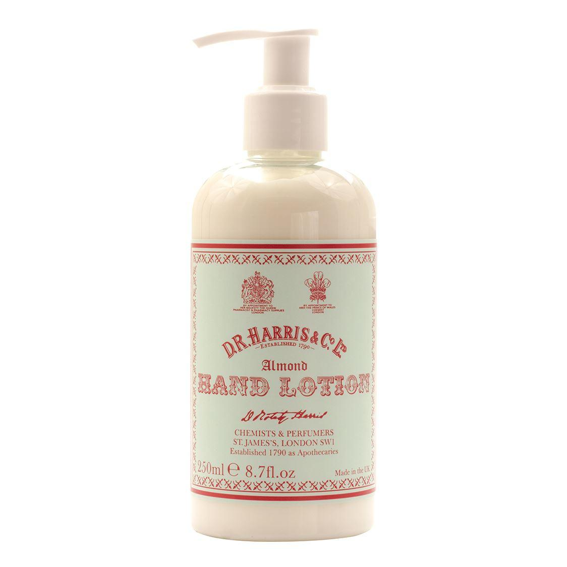 DR Harris & Co Almond Oil Moisturising Hand Lotion