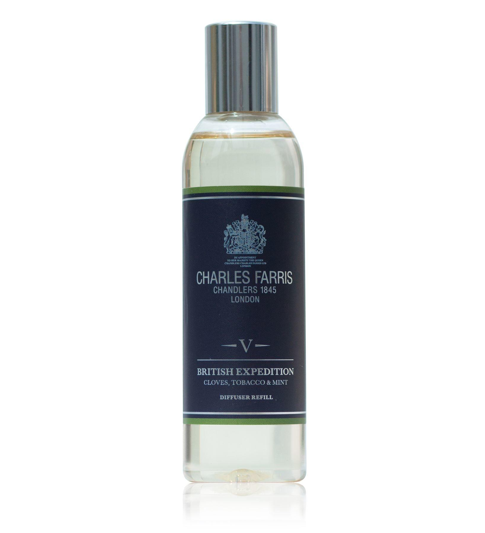 Charles Farris British Expedition Reed Diffuser Oil Refill