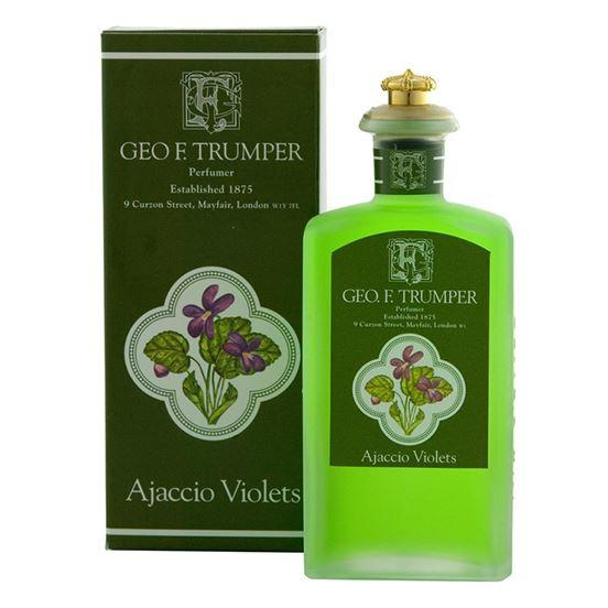 Geo F Trumper Ajaccio Violets Glass Splash Cologne
