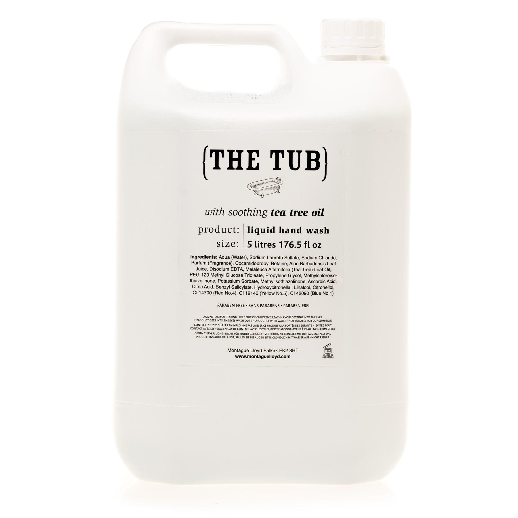 Montague Lloyd Commercial 'The Tub' Soothing Tea Tree Oil Hand Wash Refill