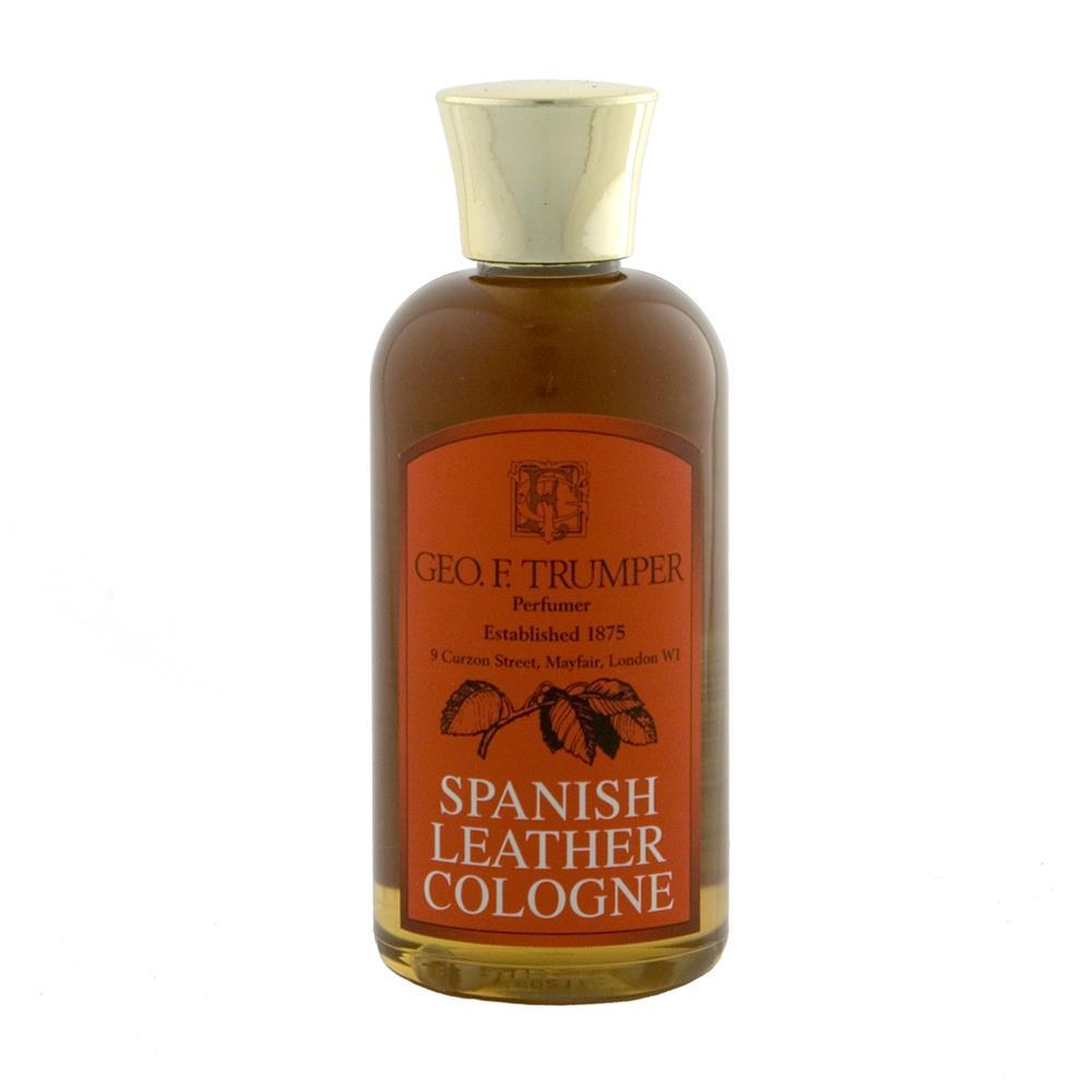 Geo F Trumper Spanish Leather Cologne Splash (100ml)