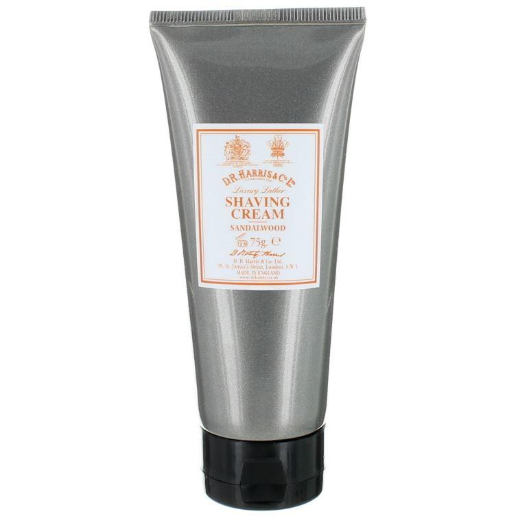DR Harris & Co Sandalwood Shaving Cream Tube