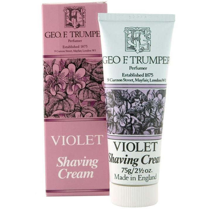 Geo F Trumper Violets Shaving Cream Tube