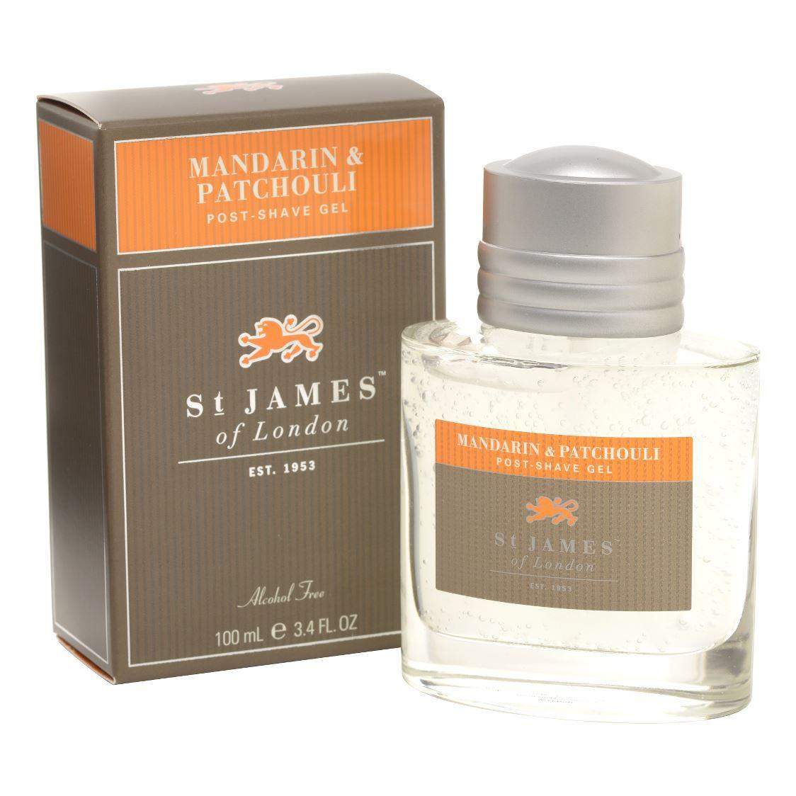 St James of London Mandarin & Patchouli Large Post Shave Gel