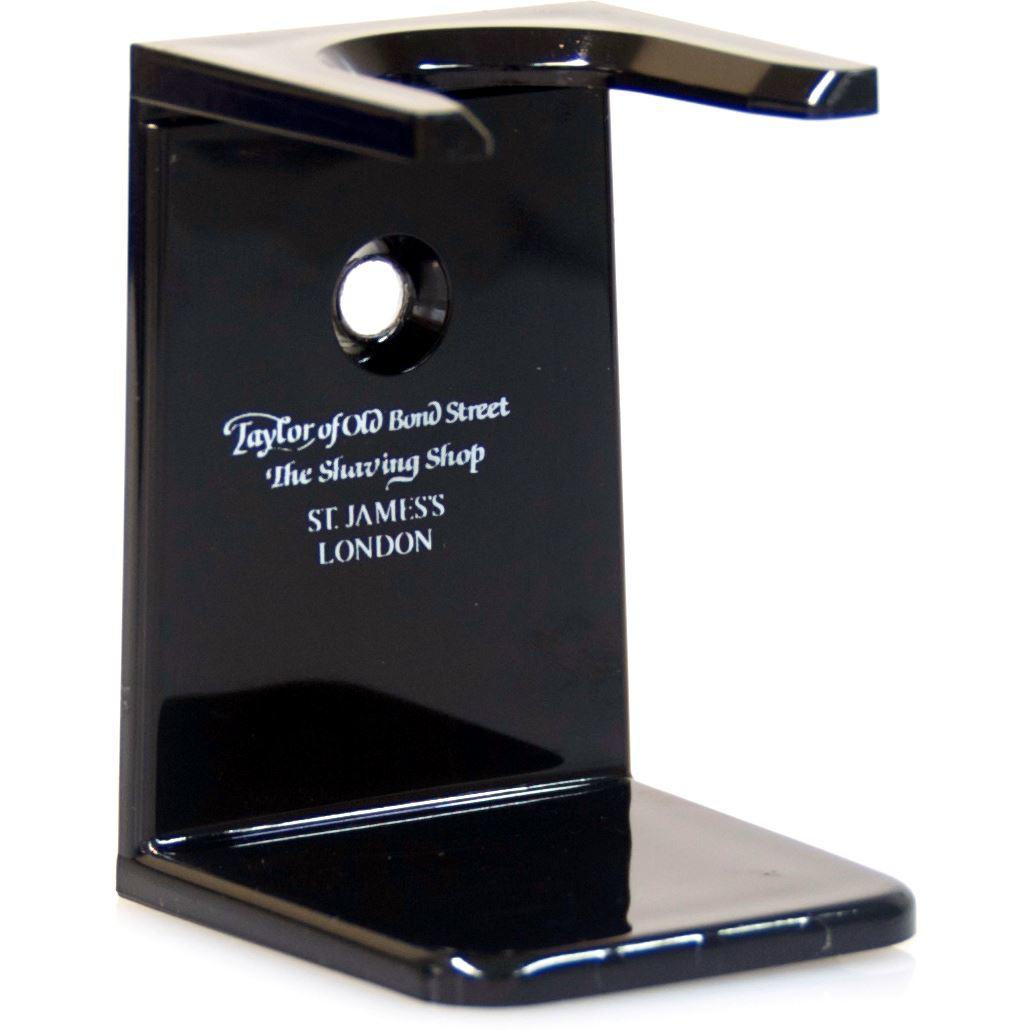 Taylor of Old Bond Street Black Shaving Brush Drip Stand