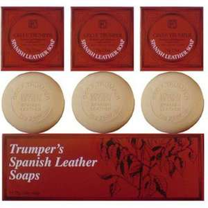 Geo F Trumper Spanish Leather Hand Soaps
