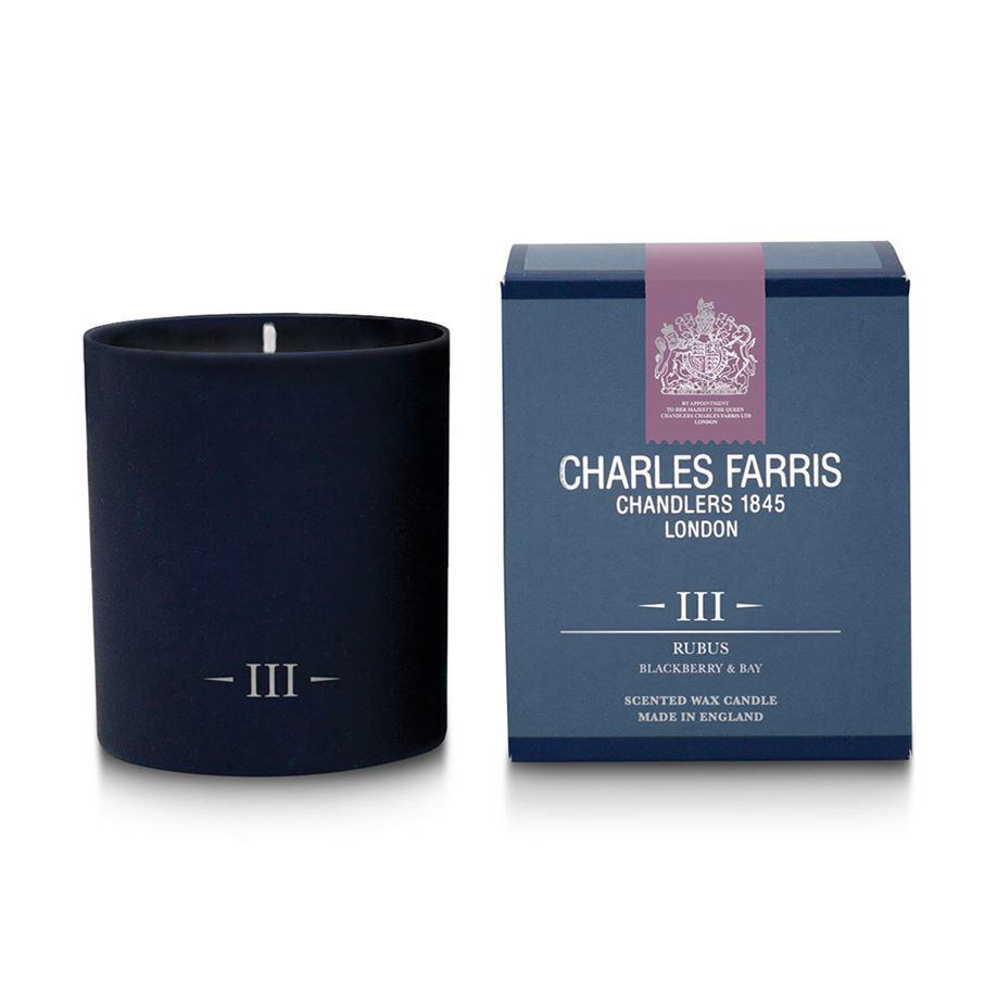 Charles Farris Rubus III Single Wick Candle