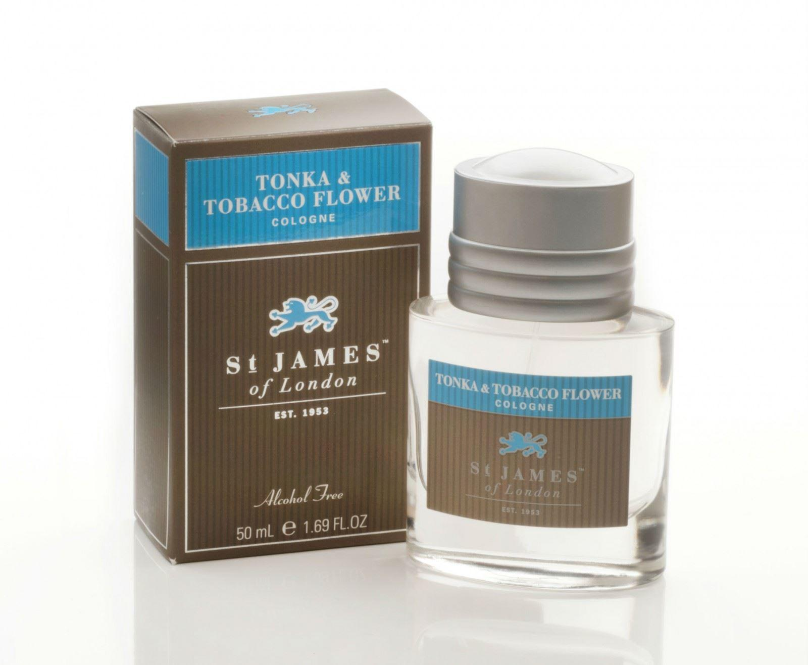 St James of London Tonka & Tobacco Flower Cologne