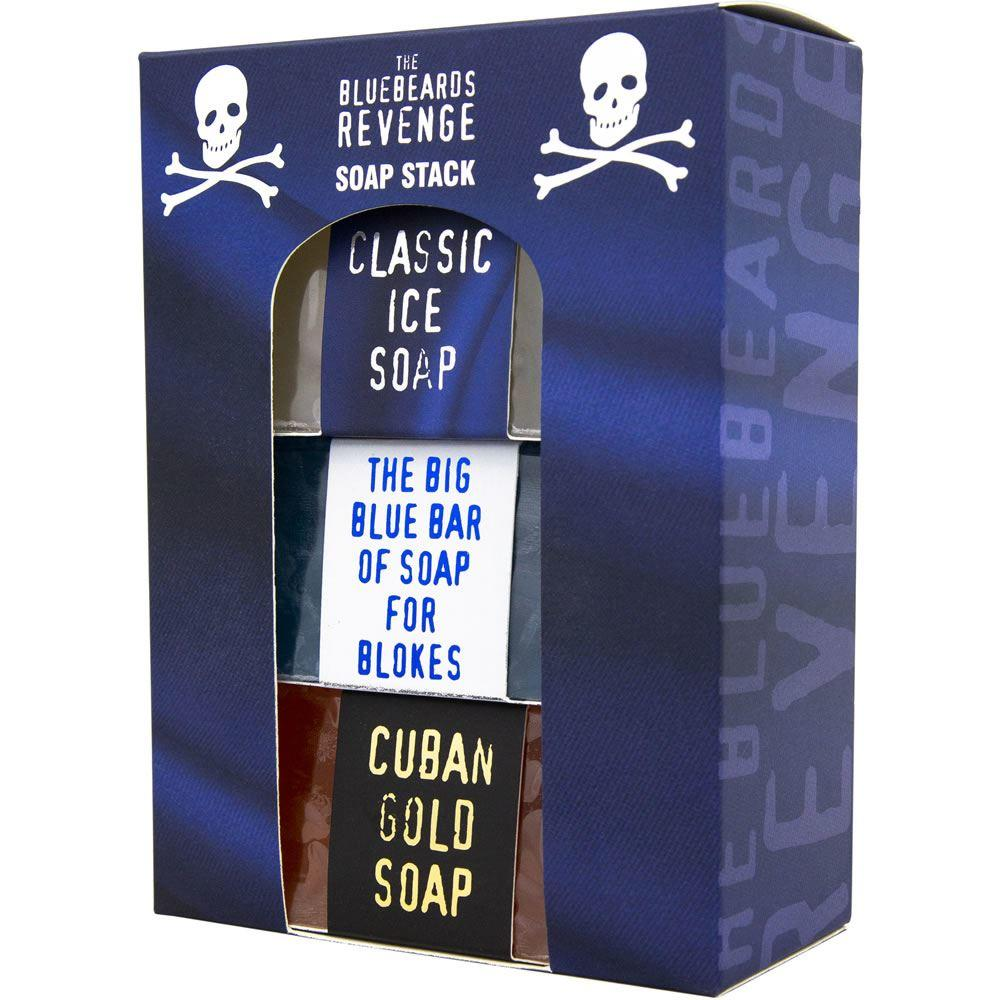 Bluebeards Revenge Soap Stack Kit (3x175g)