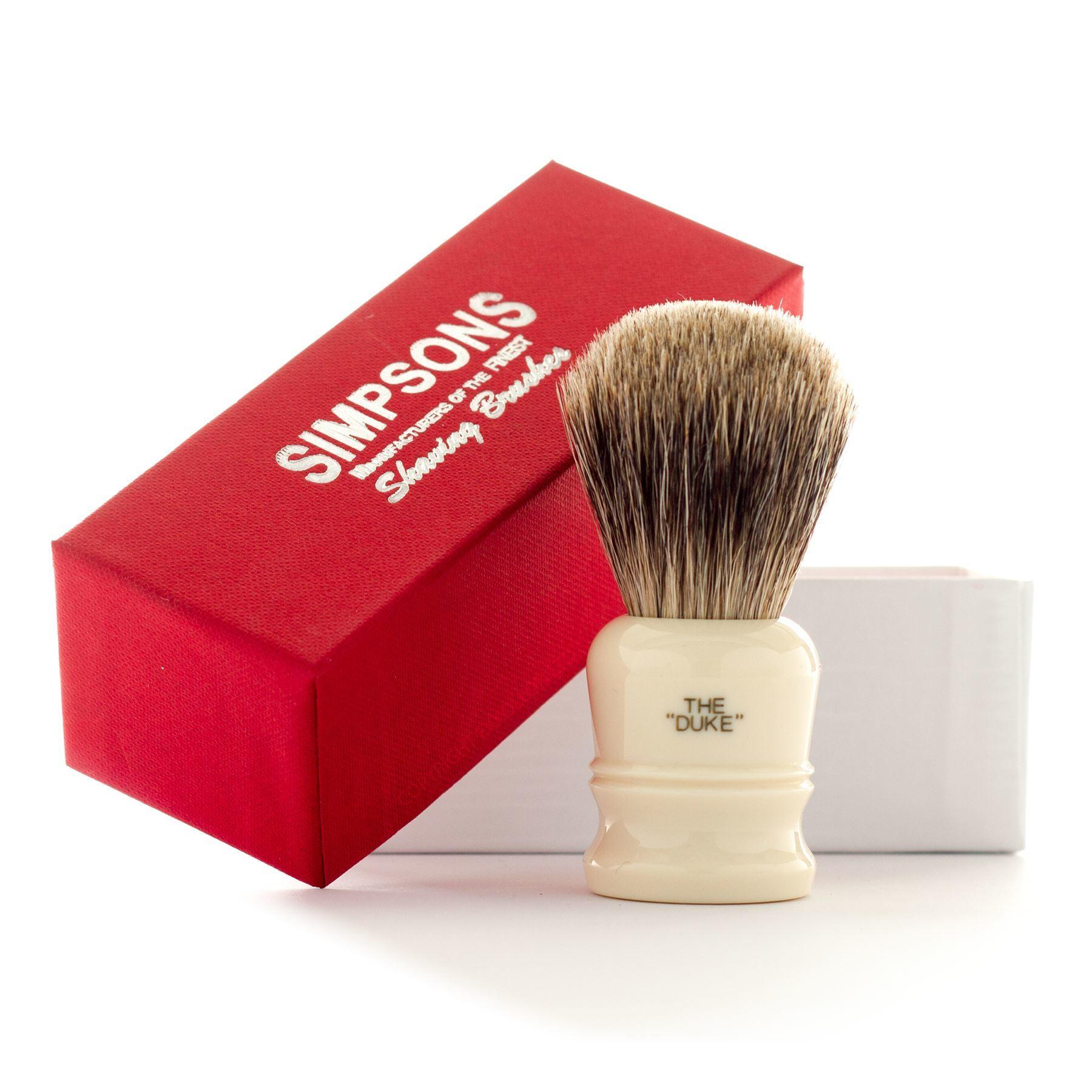 Simpsons Duke D1 Pure Badger Hair Shaving Brush