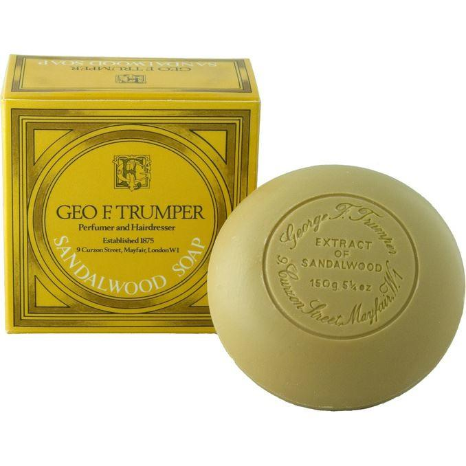 Geo F Trumper Sandalwood Round Tablet Bath Soap