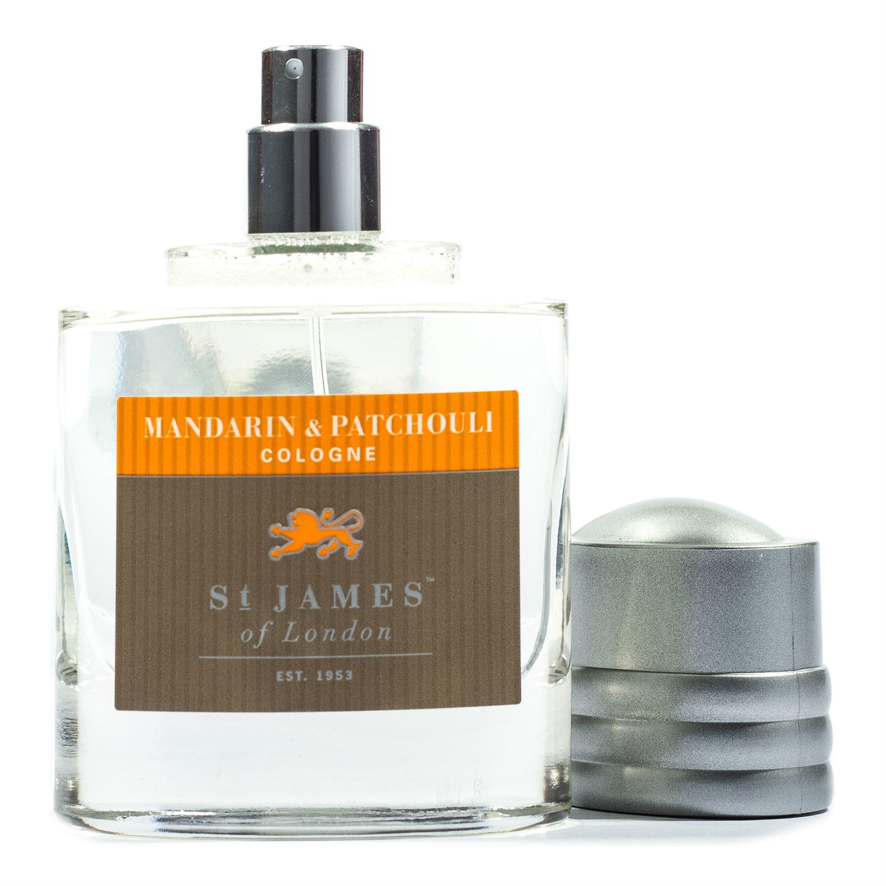 St James of London Mandarin & Patchouli Atomiser Cologne