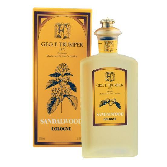 Geo F Trumper Sandalwood Cologne (100ml, Glass Splash Bottle)
