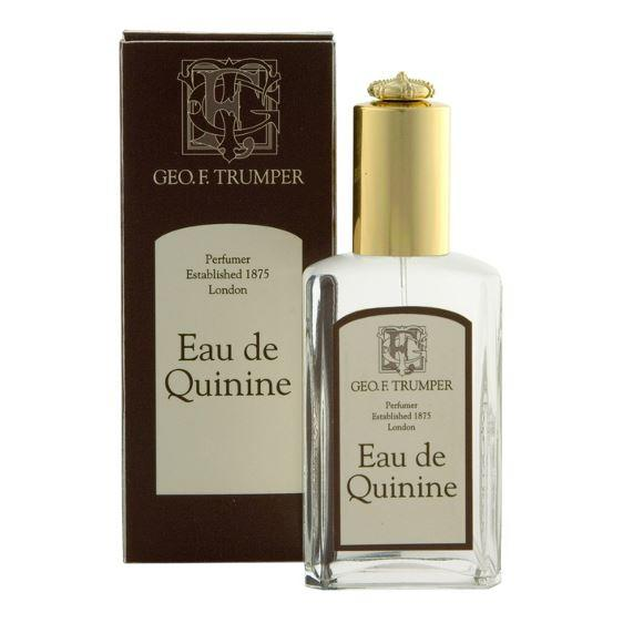 Geo F Trumper Eau de Quinine Cologne in Glass 50ml Atomiser Spray Bottle
