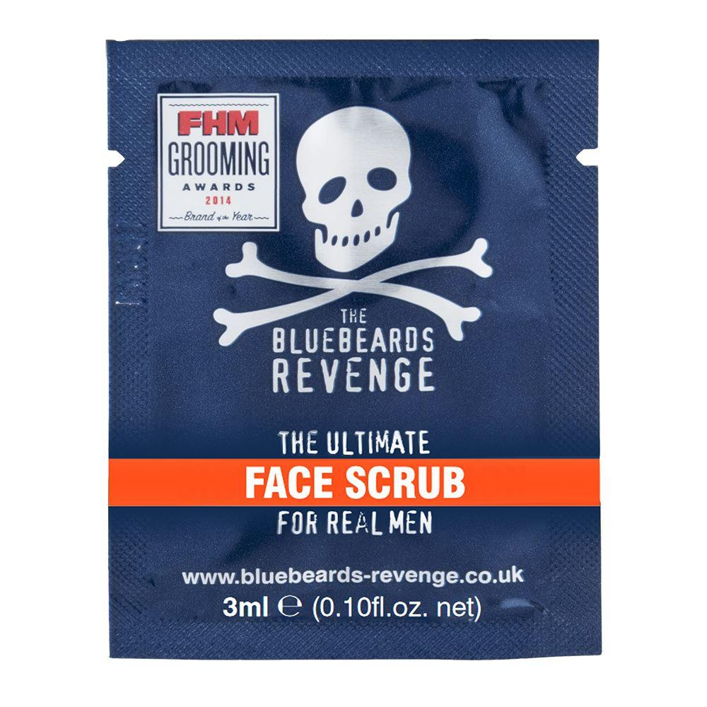 Bluebeards Revenge Face Scrub Sample Sachet (3ml)