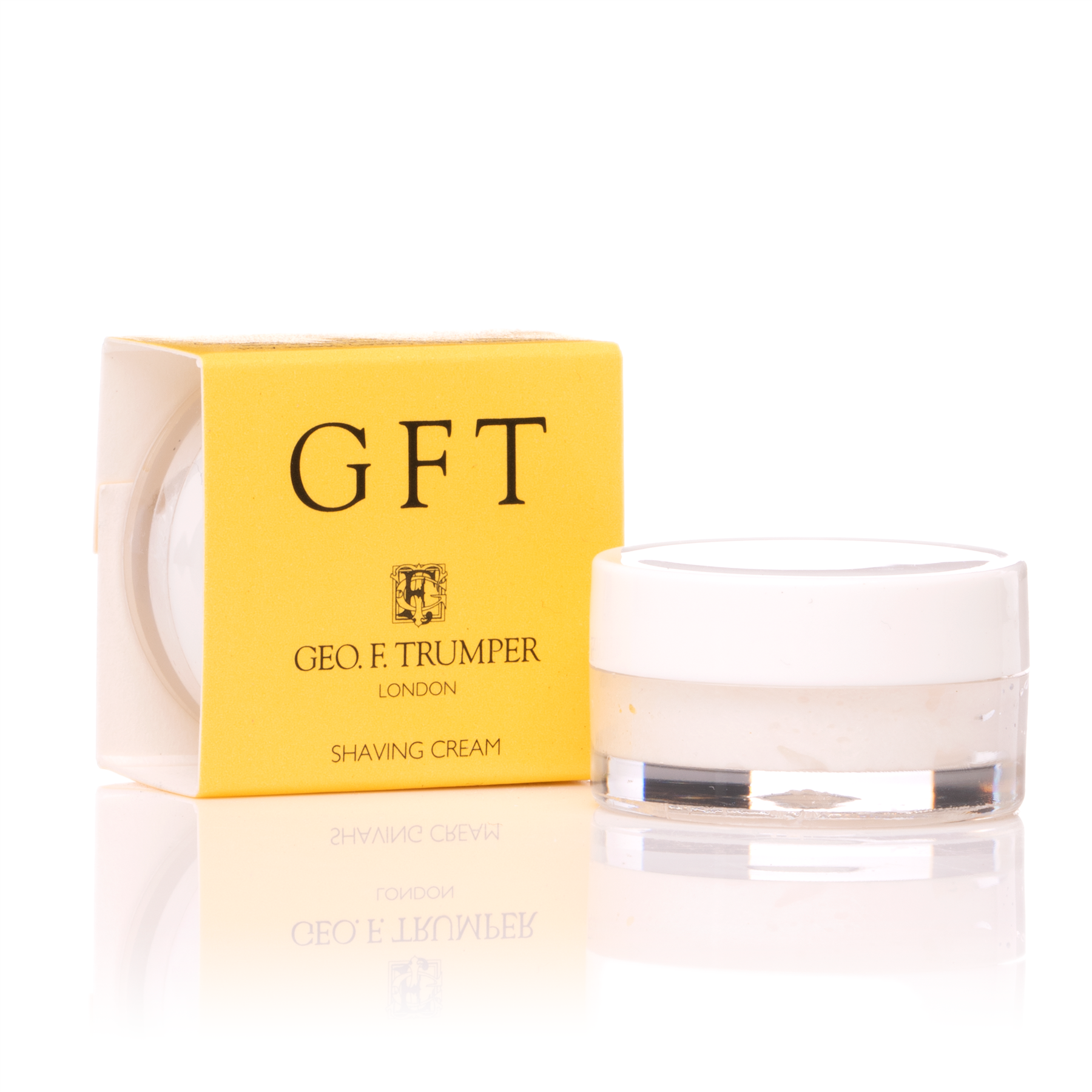 Geo F Trumper GFT Citrus Shaving Cream Sample