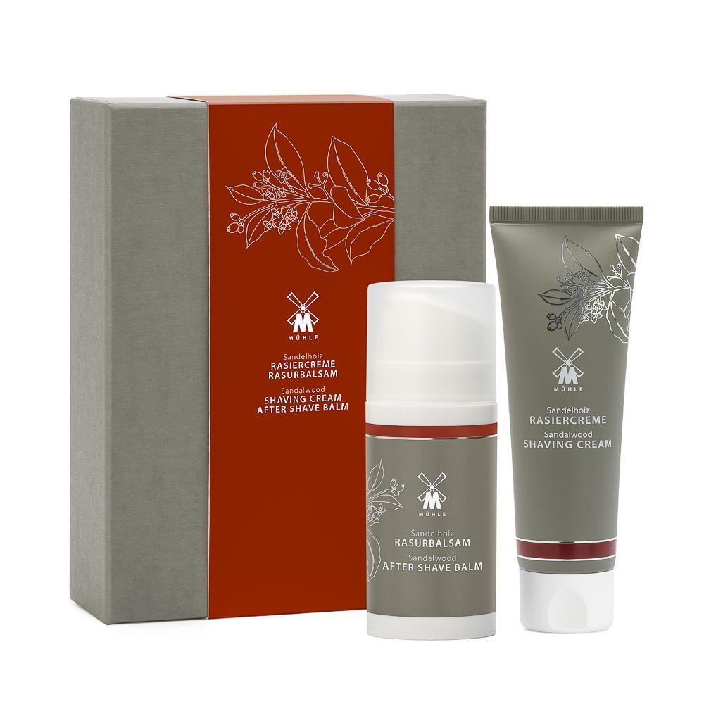 Muhle Sandalwood Shaving Gift Set (Shaving Cream & Aftershave)