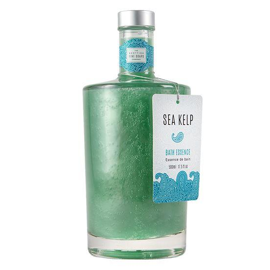 Scottish Fine Soaps Sea Kelp Bath Essence in Glass Bottle