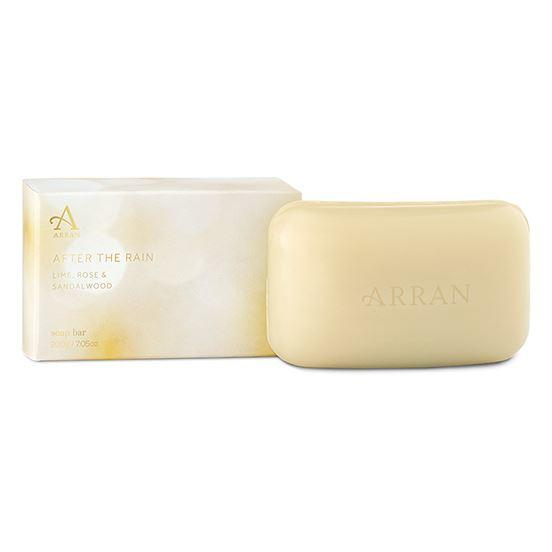Arran Aromatics After the Rain Lime, Rose & Sandalwood Bath Soap