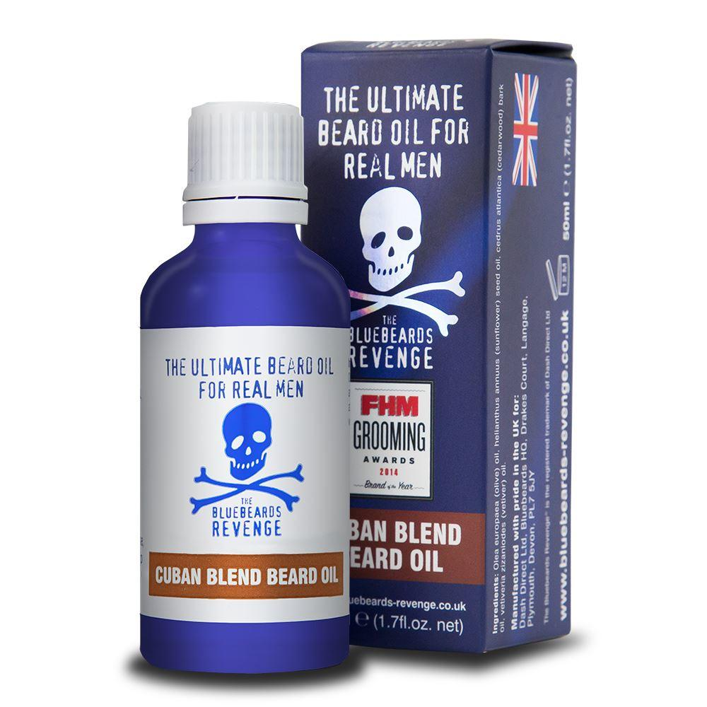 Bluebeards Revenge Cuban Blend Beard Oil (50ml)