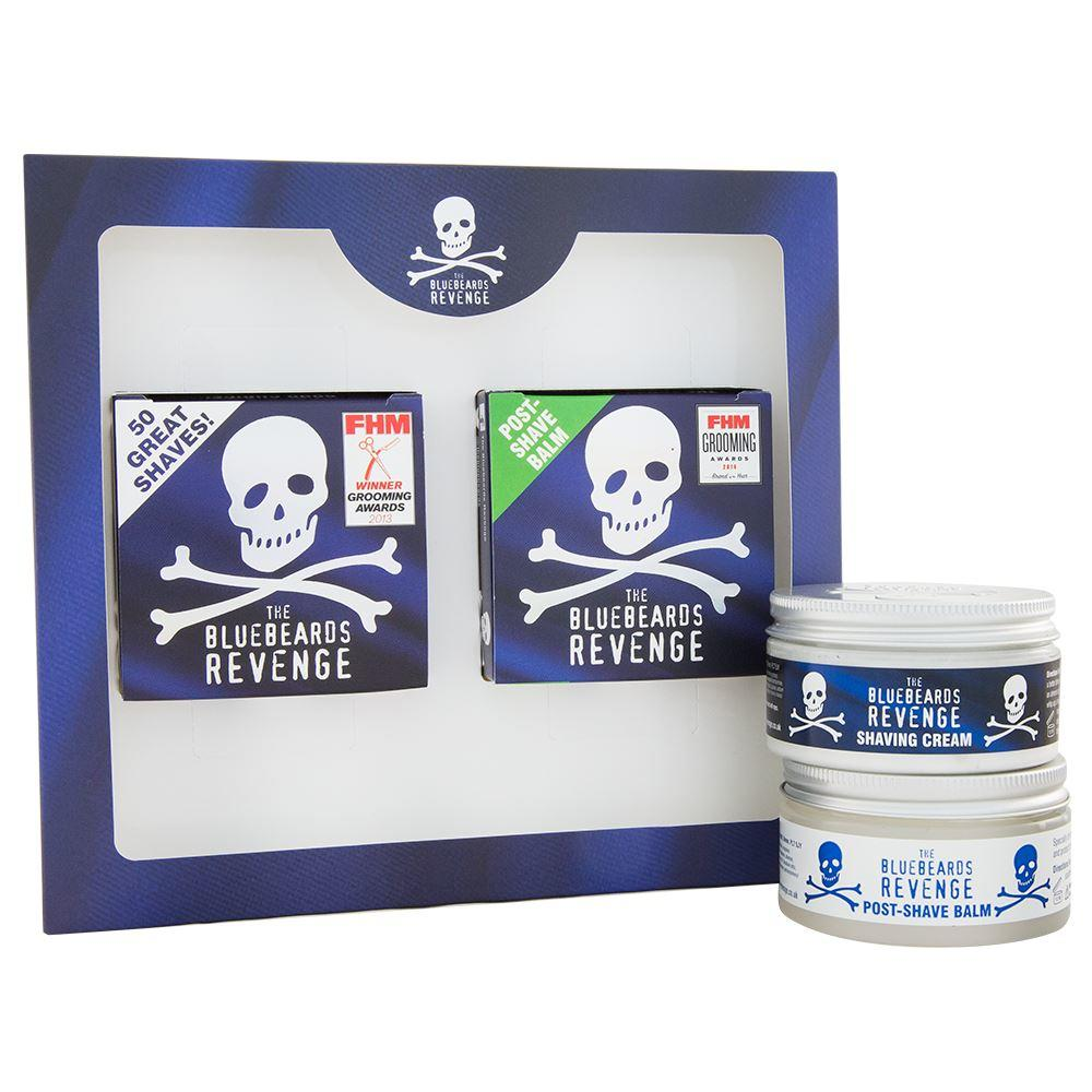 Bluebeards Revenge Shaving Cream & Post-Shave Kit