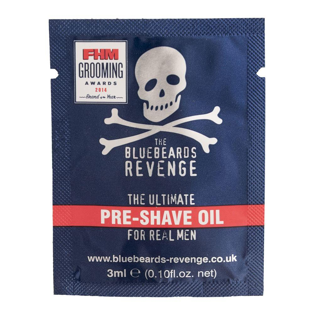 Bluebeards Revenge Pre-Shave Oil Sample Sachet (3ml)