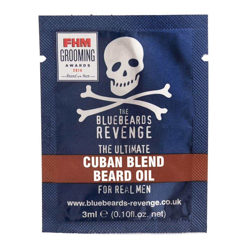 Bluebeards Revenge Cuban Blend Beard Oil Sample Sachet (3ml)